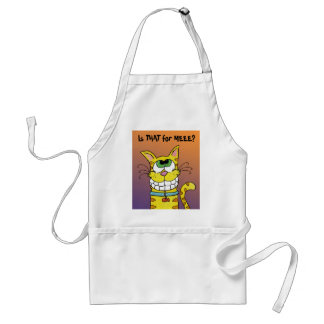 Grinning Cat Adult Apron