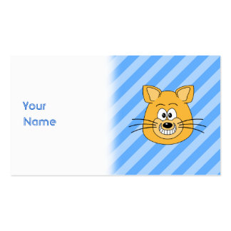 Grinning Cat. Double-Sided Standard Business Cards (Pack Of 100)