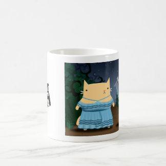 Grinning Cat Coffee Mug
