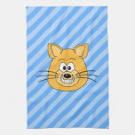 Grinning Cat. Kitchen Towels