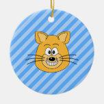 Grinning Cat. Ornaments