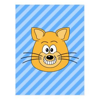 Grinning Cat. Postcard