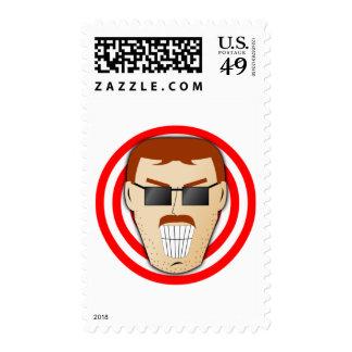 Grinning Dan Postage Stamps