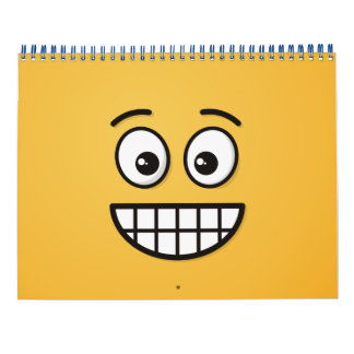 Grinning Face with Open Eyes Calendar