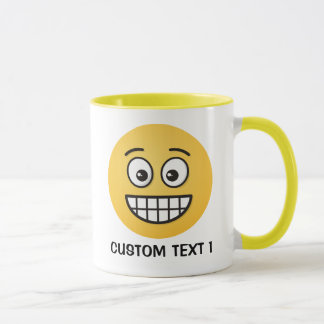 Grinning Face with Open Eyes Mug