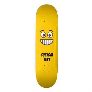 Grinning Face with Open Eyes Skateboard