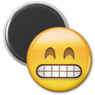 Grinning Face With Smiling Eyes Emoji Magnet