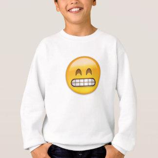 Grinning Face With Smiling Eyes Emoji Sweatshirt