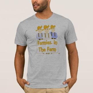 Grinning Farmies RBB Brown Pants Farmies In The Fa T-Shirt