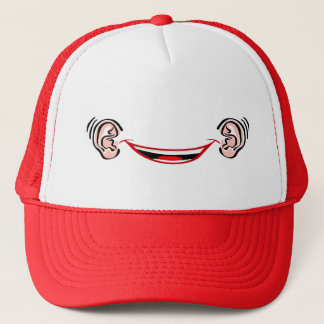 Grinning from Ear to Ear Trucker Hat