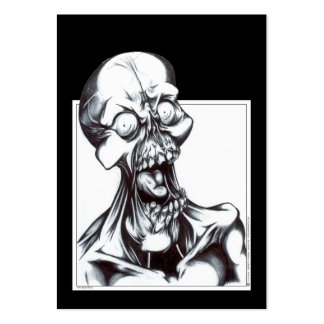 Grinning Ghoul Large Business Cards (Pack Of 100)