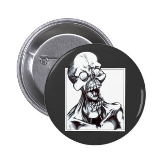 Grinning Ghoul Pinback Button