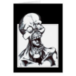 Grinning Ghoul Greeting Cards