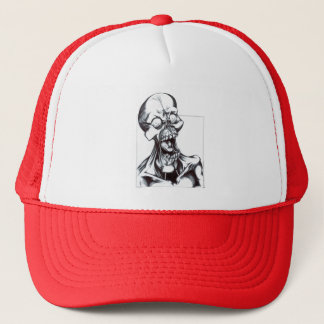 Grinning Ghoul Trucker Hat