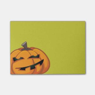 Grinning Halloween Pumpkin Post-it® Notes