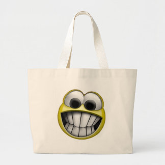 Grinning Happy Smiley Face Bags