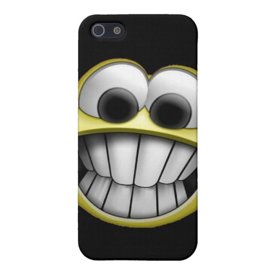 Grinning Happy Smiley Face iPhone SE/5/5s Case