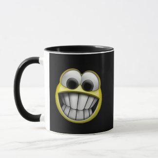 Grinning Happy Smiley Face Mug