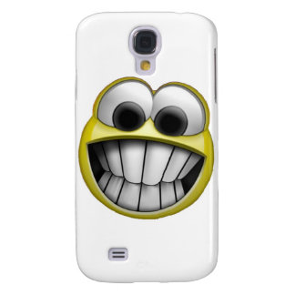 Grinning Happy Smiley Face Samsung Galaxy S4 Cover
