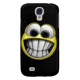 Grinning Happy Smiley Face Samsung S4 Case
