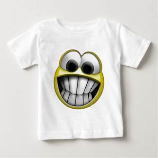 Grinning Happy Smiley Face Tee Shirt