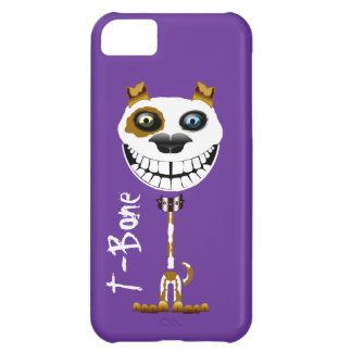 Grinning Pitt Bull dog. Smiling terrier puppy Cover For iPhone 5C