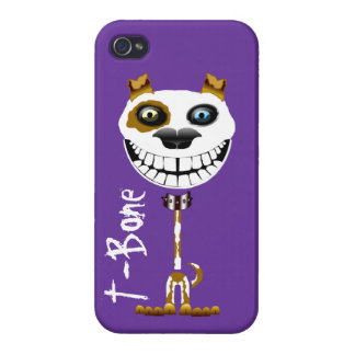 Grinning Pitt Bull dog. Smiling terrier puppy iPhone 4/4S Cover