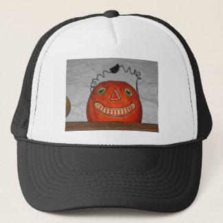 Grinning Pumpkin Trucker Hat