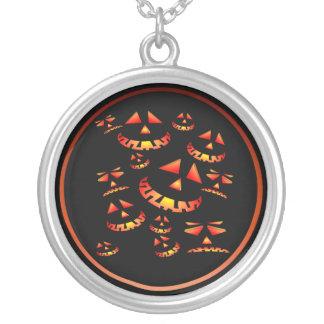 Grinning Pumpkins Necklace