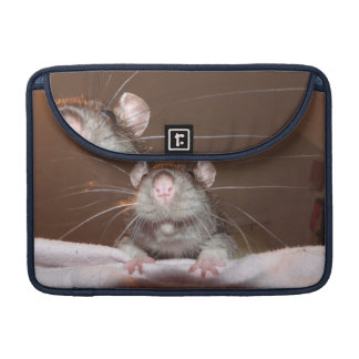 grinning rat macbook pro flap sleeve