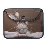 grinning rat macbook pro flap sleeve MacBook pro sleeve