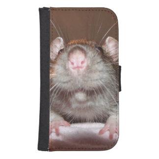 grinning rat phone wallet case