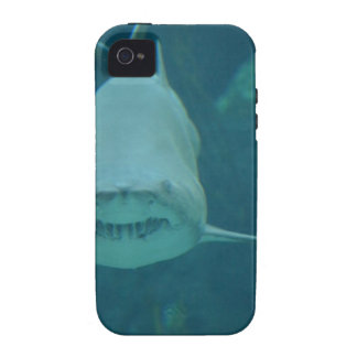 Grinning Shark Vibe iPhone 4 Cases