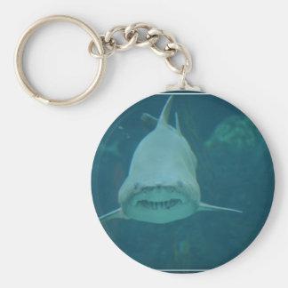 Grinning Shark Keychains