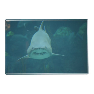 Grinning Shark Laminated Place Mat