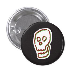 Grinning Skull Button