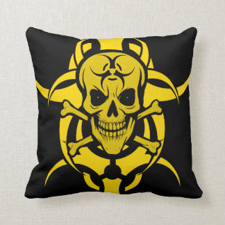 Grinning Skull Cushion