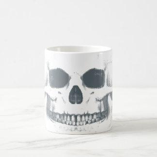 Grinning Skull. morphing mug