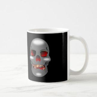 Grinning skull Mug