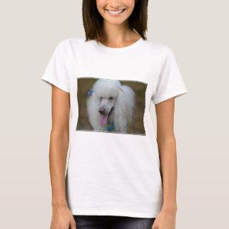 Grinning White Standard Poodle T-Shirt