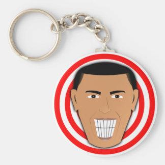 GrinningObama Keychain