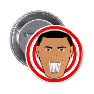 GrinningObama Pin