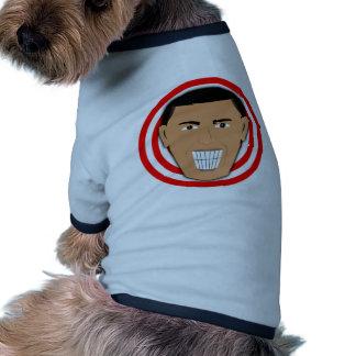 GrinningObama Camiseta De Mascota