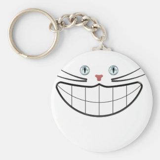 Grinsekatze Keychain