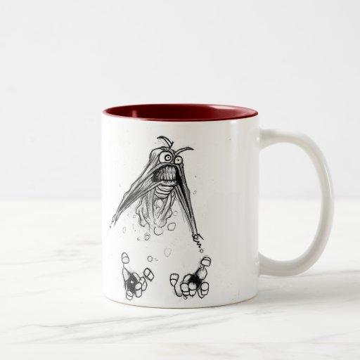 Grinsen Hex Two-Tone Coffee Mug
