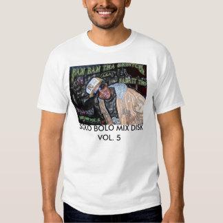 Grintchcover, SOLO BOLO MIX DISK VOL. 5 Tee Shirt
