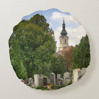 Grinzinger Friedhof, Wien Österreich Cojín Redondo