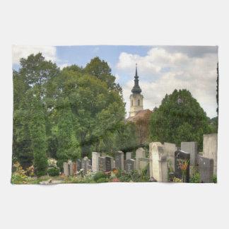 Grinzinger Friedhof, Wien Österreich Kitchen Towels