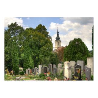 Grinzinger Friedhof, Wien Österreich Large Business Card