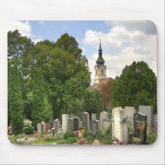 Grinzinger Friedhof, Wien Österreich Mouse Pad